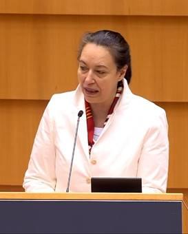 Nữ Dân biểu Isabel Wiseler-Lima (Đảng Bình dân Châu Âu, người Luxembourg) - Photo: VCHR