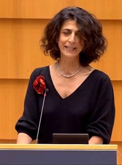 Nữ Dân biểu Maria Arena (Liên minh Xã hội & Dân chủ, Chủ tịch Phân ban Nhân quyền Quốc hội Châu Âu - Photo: VCHR