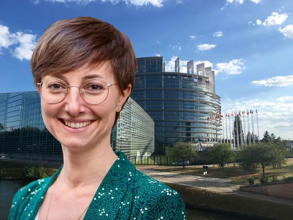Dân biểu Quốc hội Châu Âu, bà Saskia Bricmont (Photo RFA)